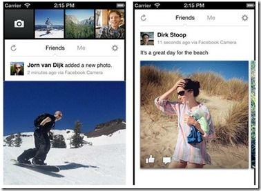 "Facebook outs ""Facebook Camera"" for iOS"
