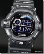 G-SHOCK 'GARISH BLACK' RISEMAN