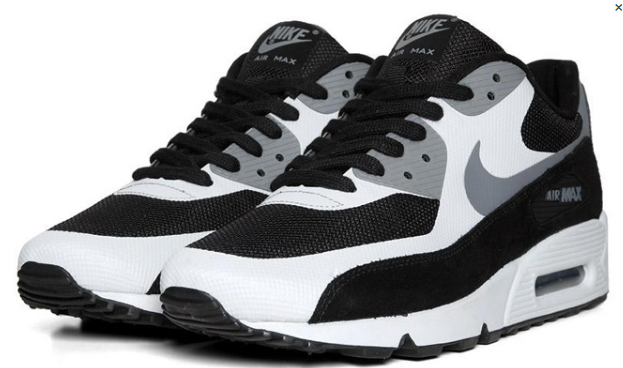 black white and gray air max