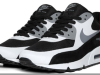 Nike Air Max 90 Premium – Black / White – Cool Grey