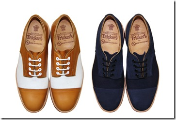 UCS x Tricker's M798 Tramping Shoes