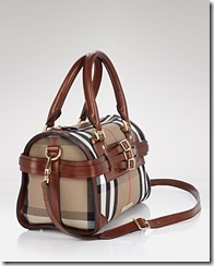 Burberry Checked Satchel 2