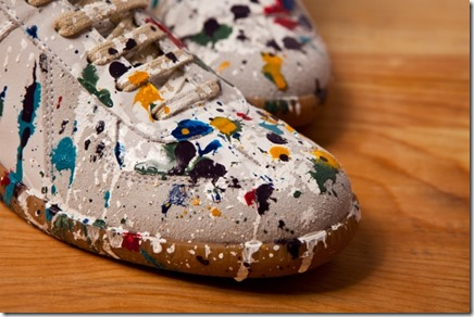 Maison Martin Margiela 2012 Pre-Fall Paint Splatter Replica Sneakers 3