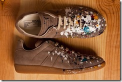 Maison Martin Margiela 2012 Pre-Fall Paint Splatter Replica Sneakers 4