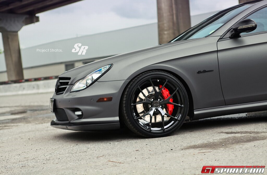 Mercedes Benz Cls 63 Amg Tuned By Sr Auto Group