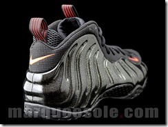 NIKE AIR FOAMPOSITE ONE – BLACK, RED AND GOLD 3