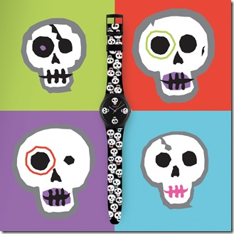 SWATCH JOINS FESTIVITIES FOR MEXICO'S DIA DE LOS MUERTOS