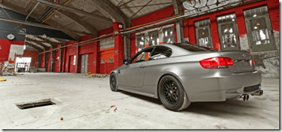 Space Matte Gray BMW E92 M3 4