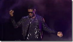 Usher performs at Xbox briefing to introduce Dance Central 3