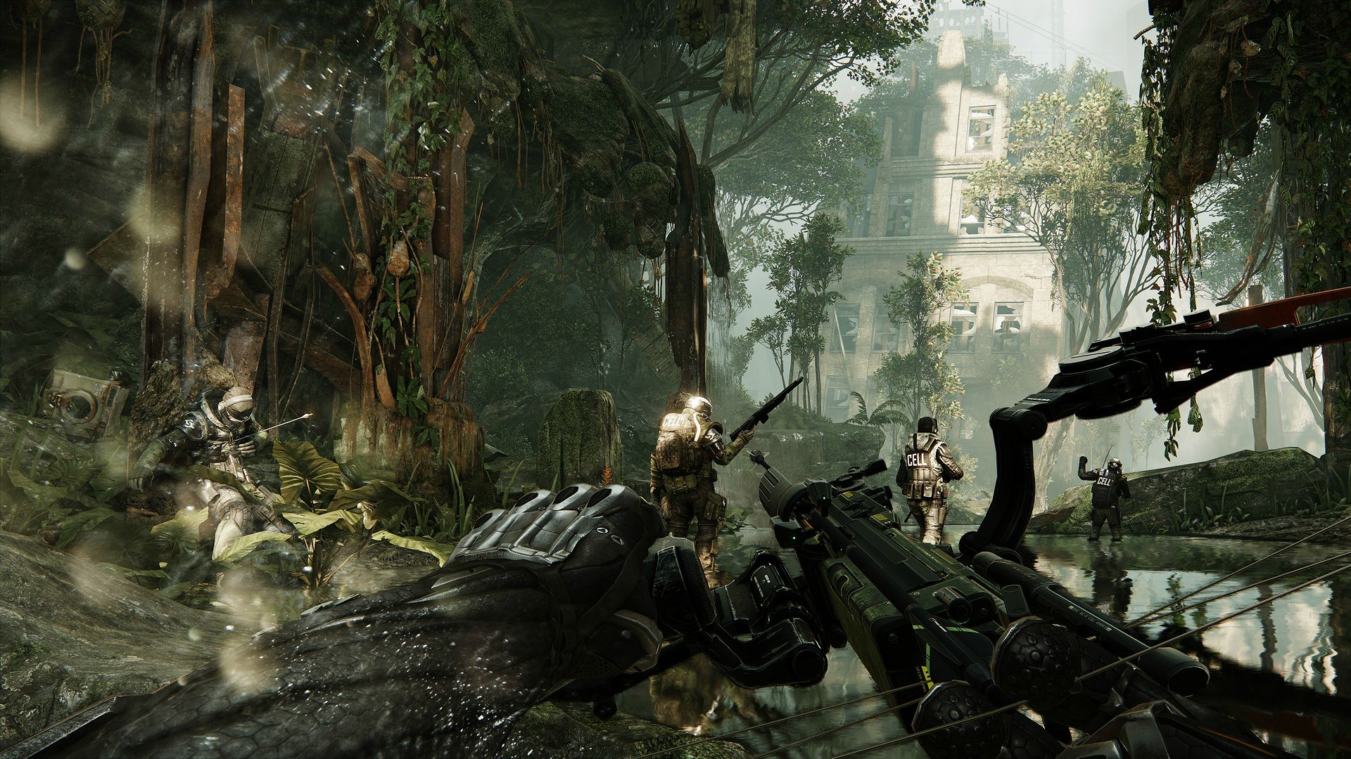 New Crysis 3 Screenshot Shows Jungle In New York