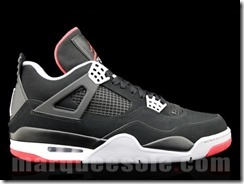 AIR JORDAN IV RETRO – BLACK CEMENT GREY AKA FIRE RED 3