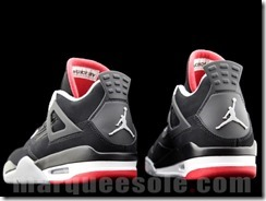 AIR JORDAN IV RETRO – BLACK CEMENT GREY AKA FIRE RED 5
