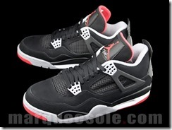 AIR JORDAN IV RETRO – BLACK CEMENT GREY AKA FIRE RED 7