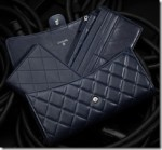 CHANEL QUILTED LAMBSKIN TRAVEL WALLET