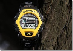 G-Shock DW-004B-9V Yellow and Black 10