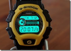 G-Shock DW-004B-9V Yellow and Black 19