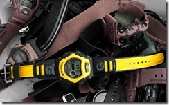 G-Shock DW-004B-9V Yellow and Black 3