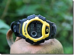 G-Shock DW-004B-9V Yellow and Black 4