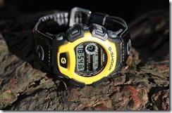 G-Shock DW-004B-9V Yellow and Black 5