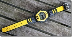 G-Shock DW-004B-9V Yellow and Black 7
