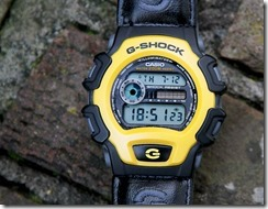 G-Shock DW-004B-9V Yellow and Black 9