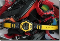 G-Shock DW-004B-9V Yellow and Black