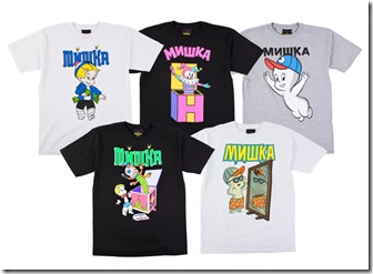 Mishka Meets Richie Rich and Casper In the Harvey capsule Collection