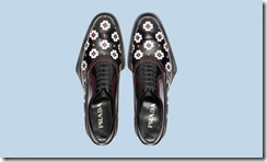 Prada Rubber & Flowers Shoes 11