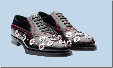 Prada Rubber & Flowers Shoes 2