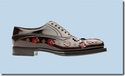 Prada Rubber & Flowers Shoes 3