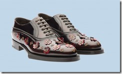Prada Rubber & Flowers Shoes 4