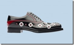 Prada Rubber & Flowers Shoes