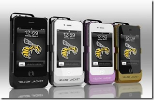Yellow Jacket iPhone Stun Gun Case