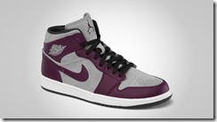 Air Jordan 1 Phat Bordeaux Stealth-Black-White 2
