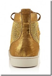 Christian Louboutin Gold Louis Strass Sneakers 2