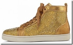 Christian Louboutin Gold Louis Strass Sneakers 5