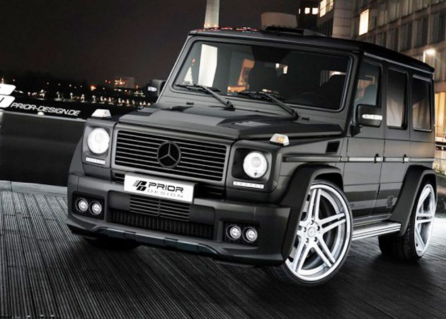 Mercedes benz g class by prior design lifestyles defined for Mercedes benz g wagon 2012