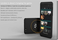 Blackberry 10 L Series is revealed to be all touch, new and an exciting line for the Blacberry.