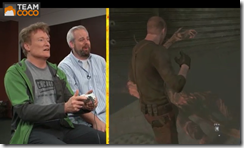 Conan O'Brien reviews Resident Evil 6 Hilarious