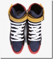 Dsquared2 Navy Combo Alta Sneakers 5