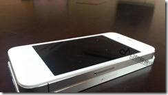Leaked video of iPhone 5 5