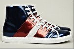Marc Jacobs Red, White and Blue Sneakers