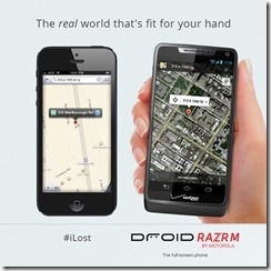 Motorola lied on iOS 6 Maps by using a fake address