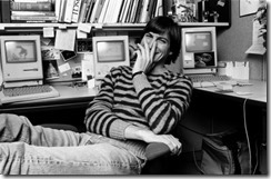 STEVE JOBS UNSEEN IMAGES BY NORMAN SEEFF (1984)