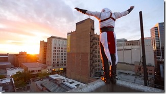 Ronnie Shalvis: Parkour / Free Runner Becomes A Real life Assassin's Creed Character (Must See)