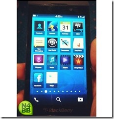 Blackberry 10 L Series N4bb. New systematic fresh design and more.
