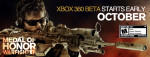 Medal of Honor Warfighter Beta Starts Early Octboer for Xbox 360 Only!