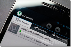 uTorrent beta app for Android