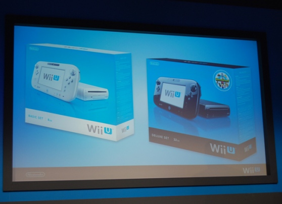 Nintendo's Wii U Lands In Stores Nov. 18 In Two Versions, Base Price of $300