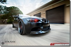 625hp Frozen Black BMW M3 2